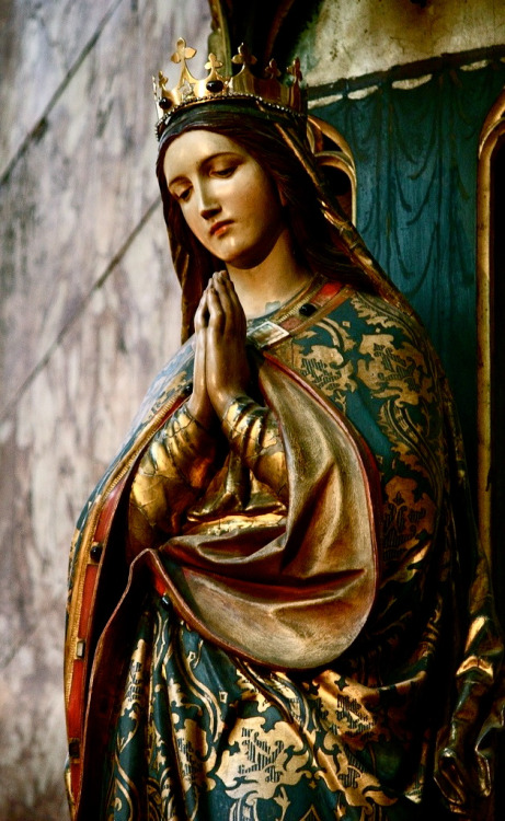 Blessed Mother in Green